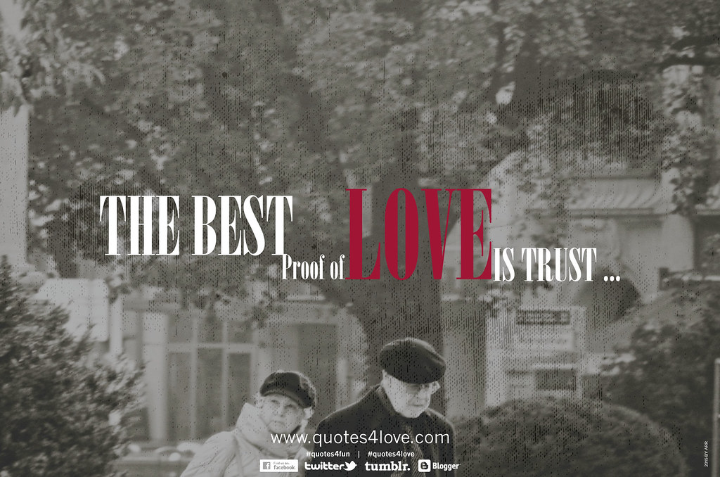 Love Quote - The best proof of