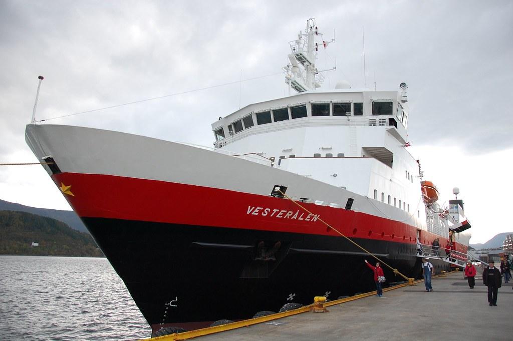 MS Vesteralen de la compañia Hurtigruten