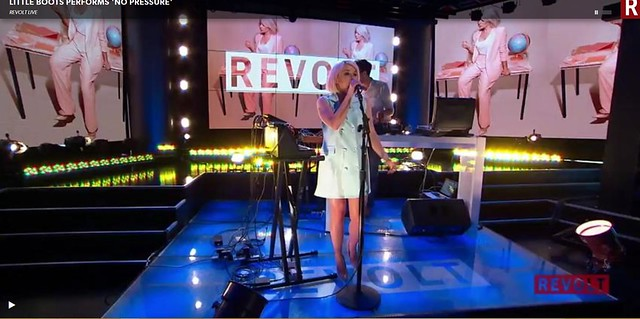 Little Boots at Revolt