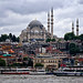 View from the river of Istanbul, Turkey by ` Toshio '