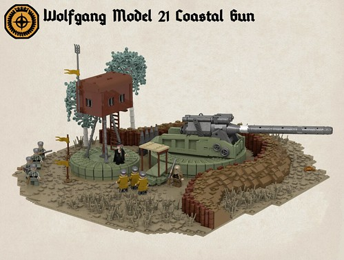 Wolfgang Model-21 Coastal Gun.