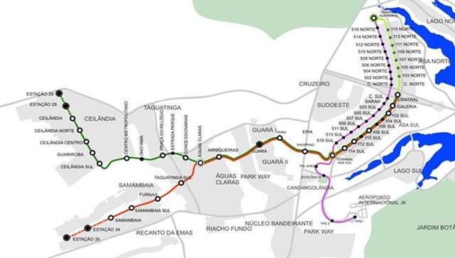 Brasília metrô