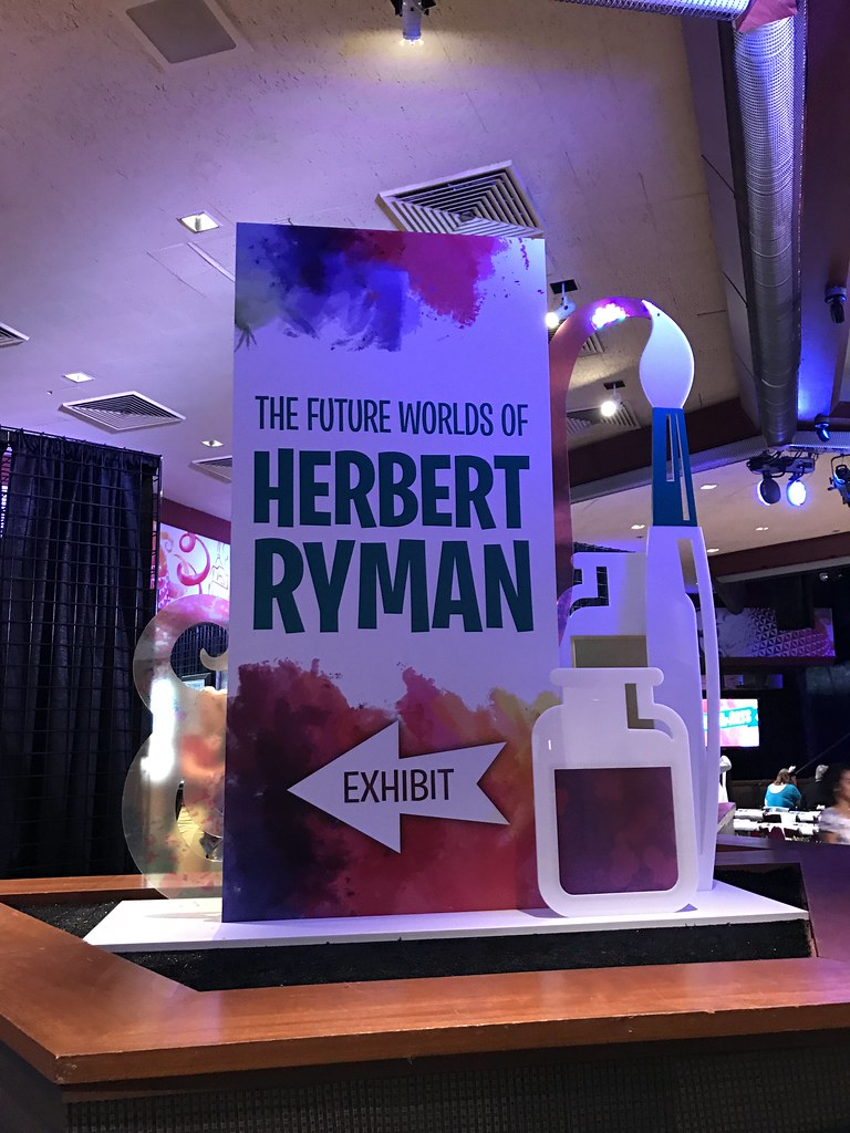 The Future Worlds of Herbert Ryman - Epcot International Festival of the Arts