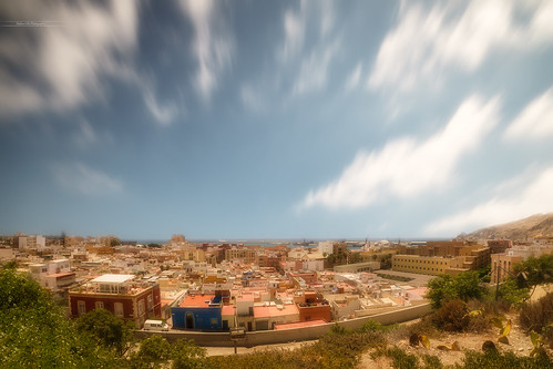"Almeria from the book ""Le isole lontane"" by Sergio Albeggiani"