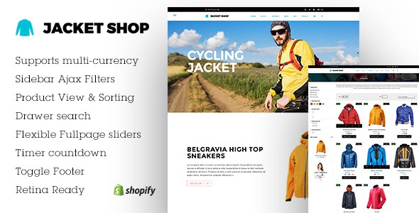 Jacket Shop v1.0 - Fashion Shop Shopify theme