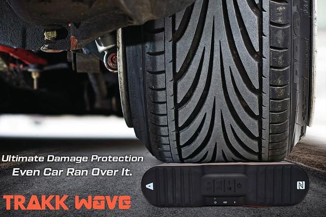 TRAKK WAVE Waterproof Durable Wireless Bluetooth Speaker.