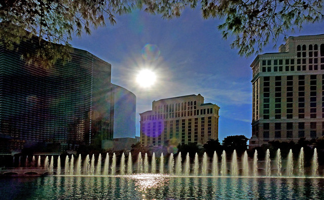 The Fountains of Bellagio.Las Vegas.