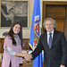 Secretary General Meets with President of Latin-American Youth Network for Democracy