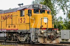 UP 152 | GE B23-7 | BNSF Thayer South Subdivision