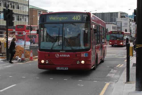 Arriva London South DWS9 LJ53NFX