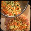 #zucchini #risotto #homemade #CucinaDelloZio - add diced zuch e carrots