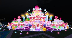SL12B Cake Stage at night