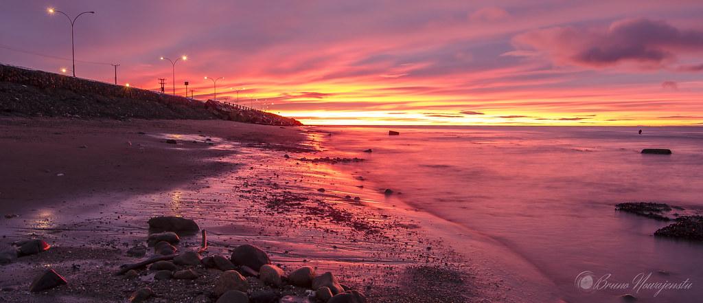Amanecer En Punta Arenas Uno De Los Tantos Bellos Amanecer Flickr