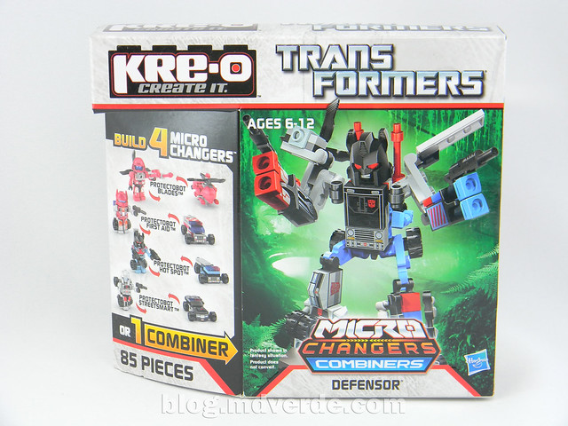 Transformers Defensor Kre-O - caja