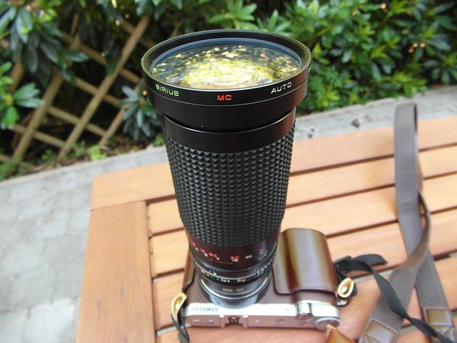 Sirius Auto MC Zoom lens 28/200mm f4/5.6 dia 72mm