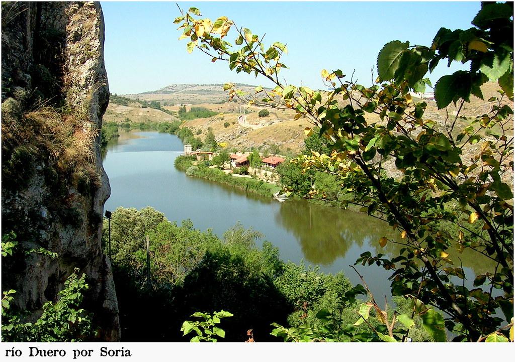 Río Duero por Soria