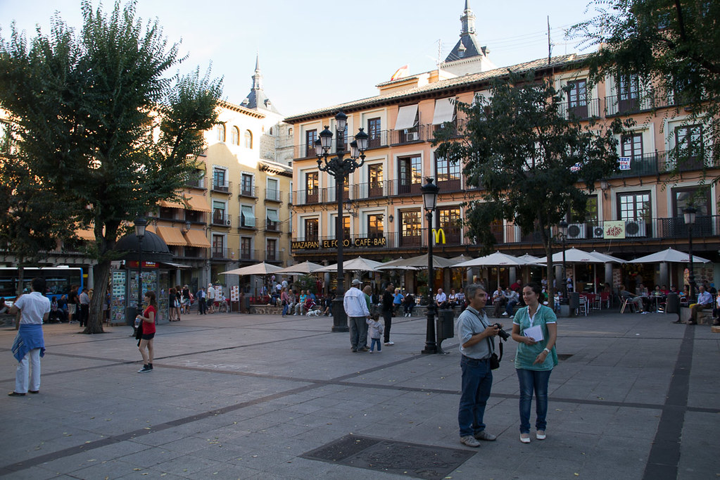 Main square in Toledo, Spain