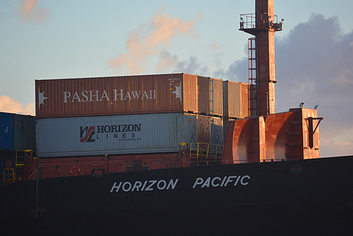 Horizon and Pasha containers