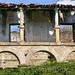 Ruínas do claustro do Mosteiro da Granja (Boticas)