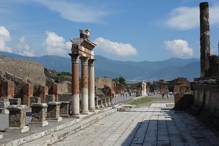 Áreas arqueológicas de Pompeia