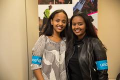 Hannah Godefa and Abelone Melesse