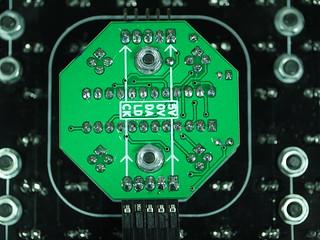 Rear of LED Driver PCB
