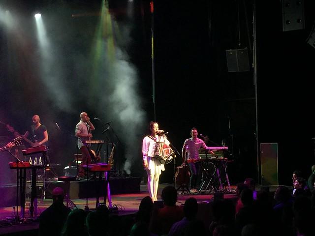 Julieta Venegas en el Festival de Cap Roig