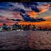 City of Boston at sunset by episa