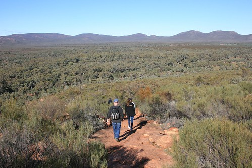 Wangarra Lookout Walk Wilpena Pound