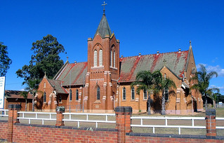 Aug 2004 - St Patricks Catholic Church, 55 New England Highway, Lochinvar, New South Wales, Australia