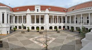 Courtyard Museum Bank Indonesia