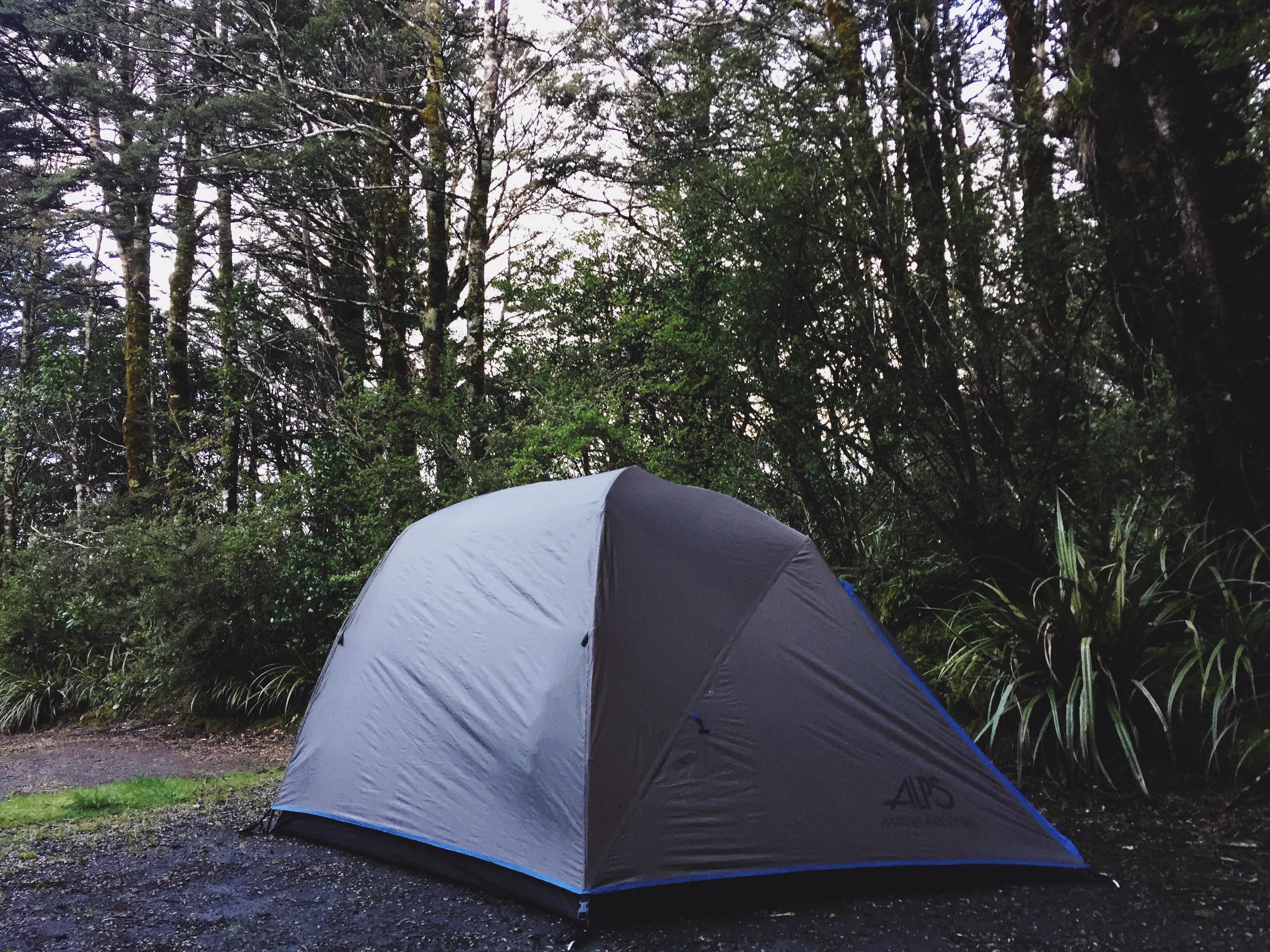 Campsite at Whakapapa Village