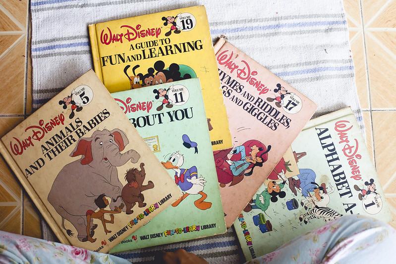 Disney Bantam Books Fun To Learn Library