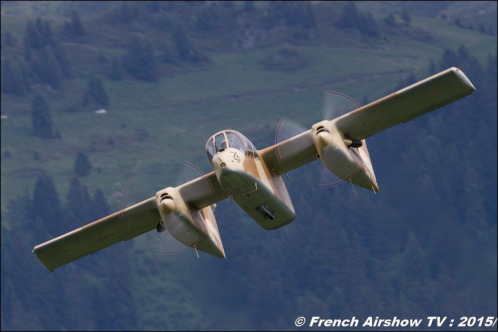 North American OV-10 Bronco, F-AZKM , montelimar, Fête aerienne Alberville 2015, Meeting Aerien 2015