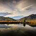 Sunset reflections by Kiwi Tom