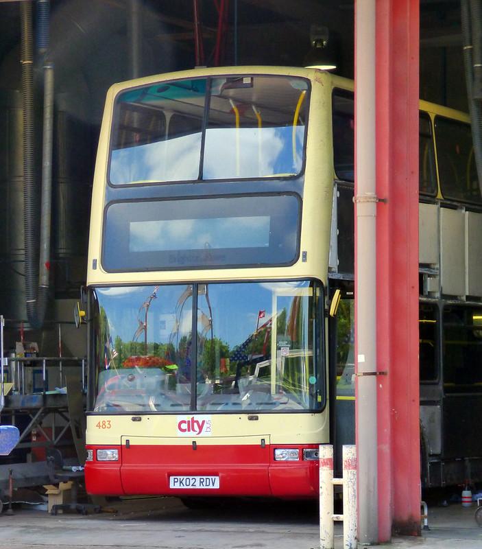 Plymouth Citybus 483 PK02RDV