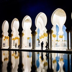 'A little break' #ramadan #ramdhan #ramzan #abudhabi #mosque #masjid #islam #reflection