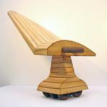 Kurt Dyrhaug; Tractor Keel; Cast iron and enamel paint; 36x45x20; 2011 - FIRED: Iron September 17 - November 15, 2015