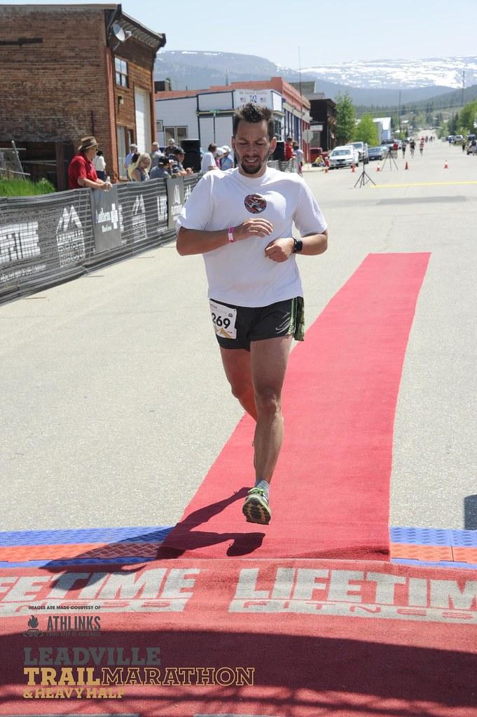Leadville Heavy Half Marathon 2015