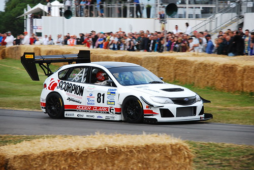 Olly Clark, Subaru Impreza 'Gobstopper II', Goodwood Festival of Speed 2015