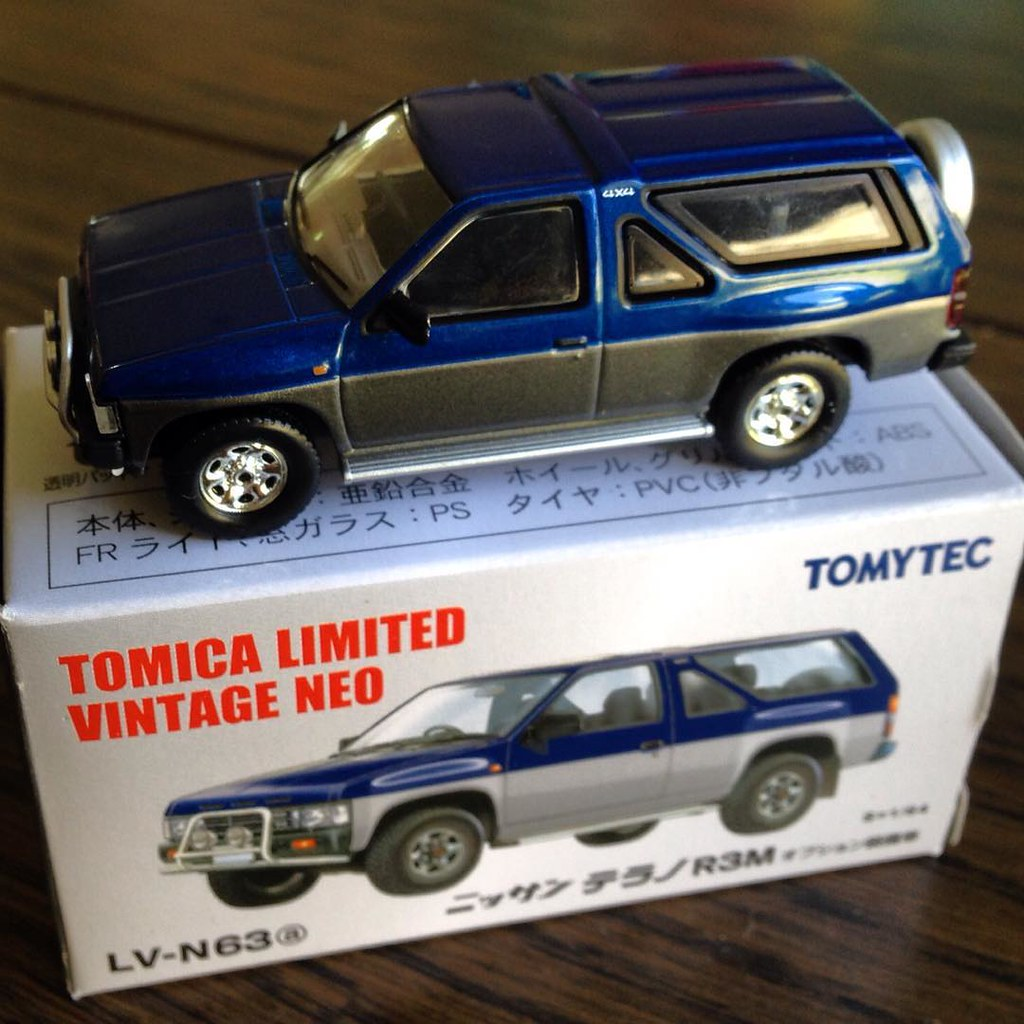 46ba6dd2bc8 ... LV-N63a Tomica Limited Vintage Neo - Nissan Terrano (Pathfinder)  #tomica #
