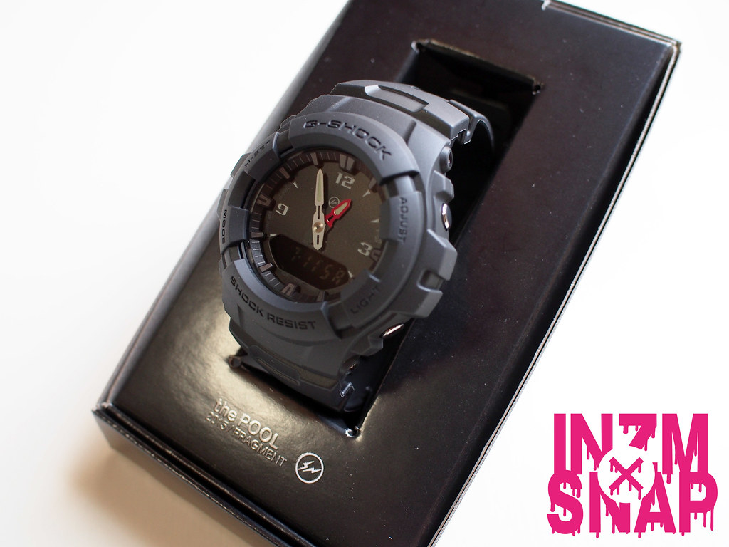 G-SHOCK × fragment design