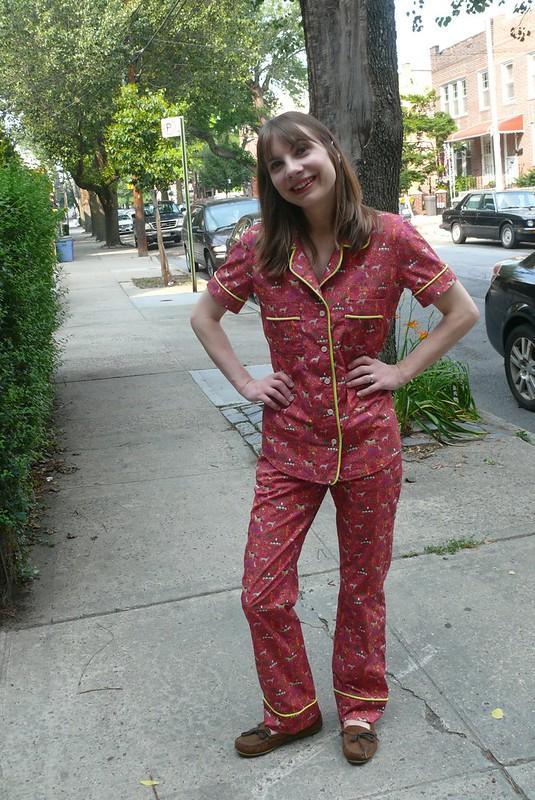 Closet Case Files Carolyn Pajamas | Ginger Makes