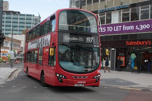 Arriva London South DW265 LJ59LXW