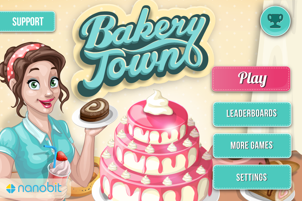 Download Free Game Bakery Town Hack (All Versions) Unlimited Gold Coins,Unlimited Gems100% Working and Tested for IOS and Android