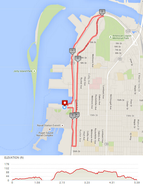 """Today""""s awesome walk, 5.38 miles in 1:44, 11.578 steps, 209ft gain"""