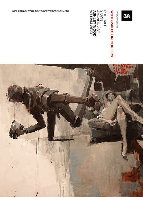 【完整資訊更新】threeA – JAPAN VENTURE【2015 年日本展】WITH SMILES ON OUR LIPS