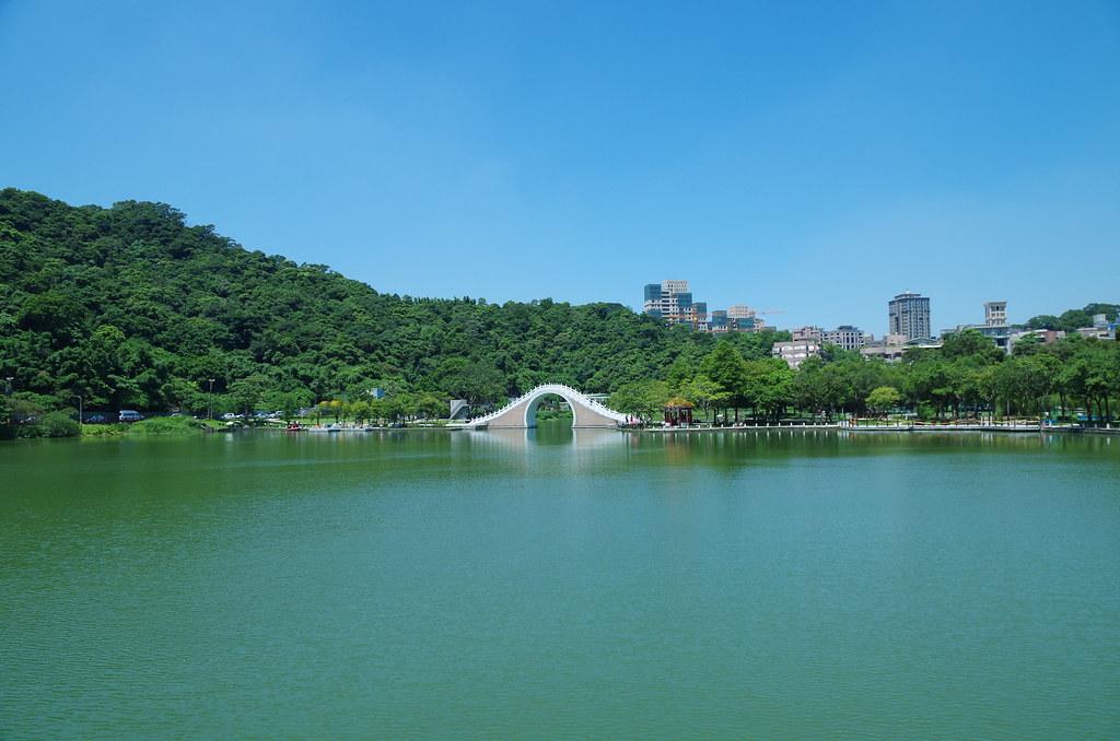 大湖公園 & 國父紀念館翠湖