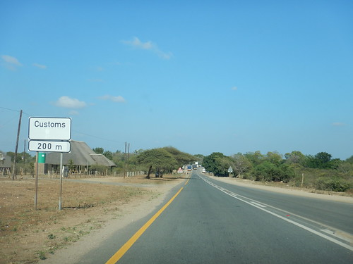 Approaching the border of Swaziland