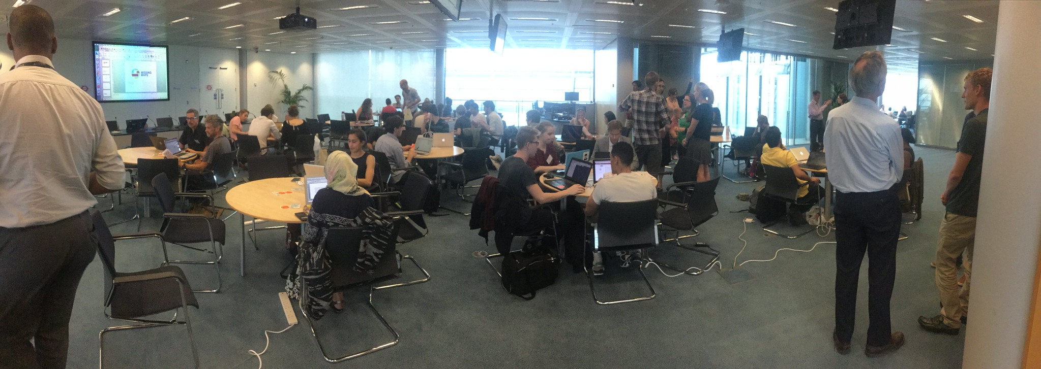 Missing Maps London mapathon in August 2015